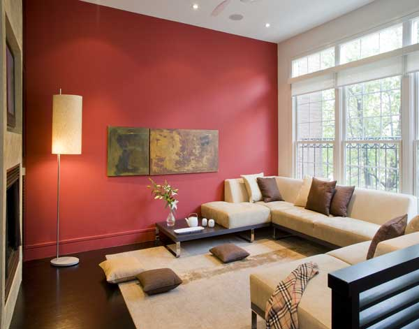 Decorica Al Tip The Accent Wall Living Room