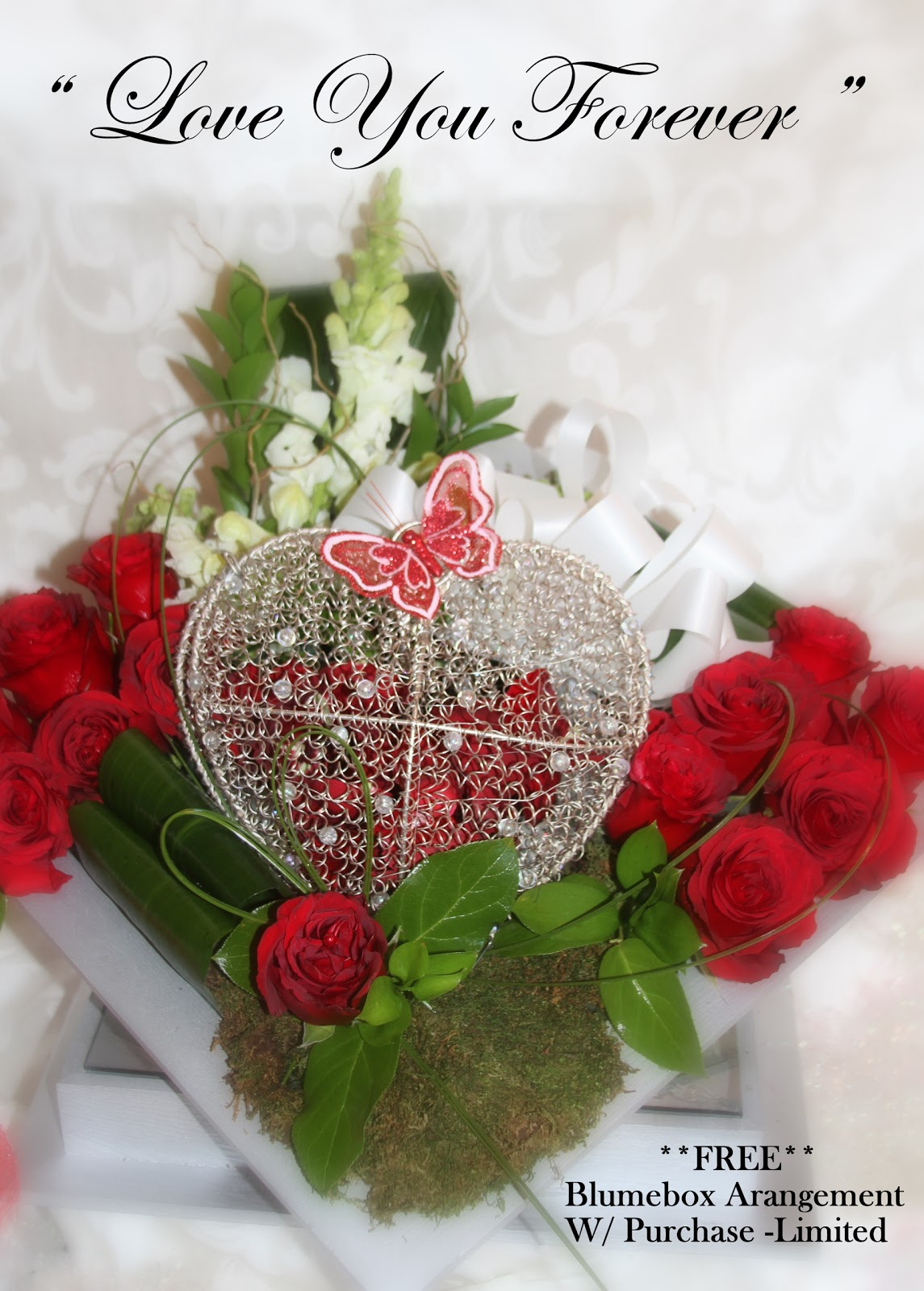 Love You Forever Trendee Flowers Designs