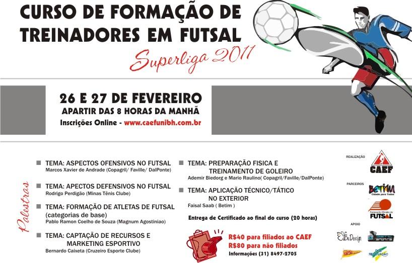 Curso para Formação de treinadores de Futsal  9ca103f405e1f