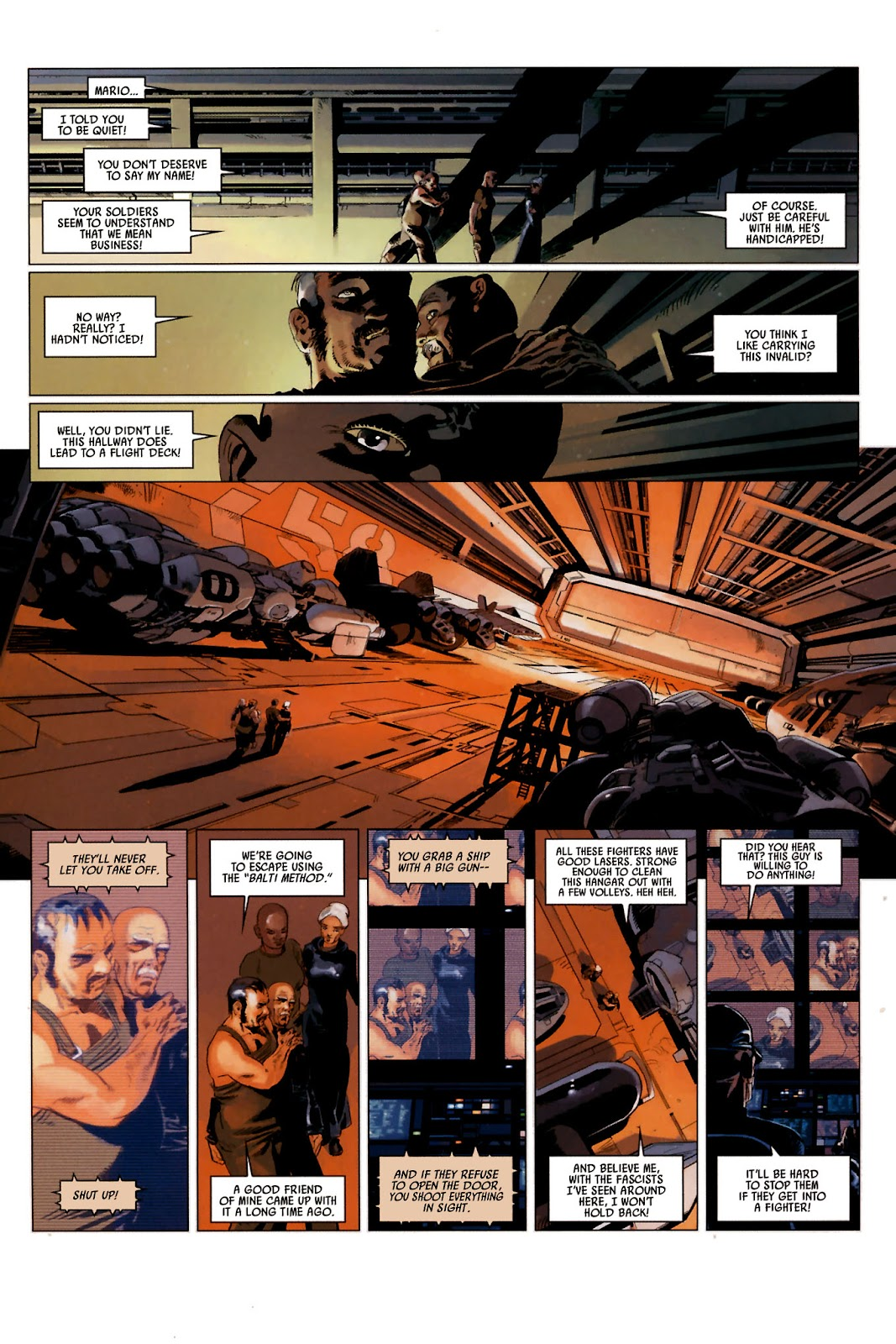 Read online Universal War One: Revelations comic -  Issue #2 - 30