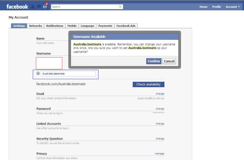 please open my facebook