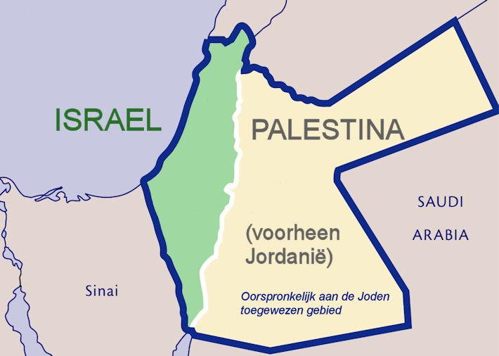 waar ligt palestina