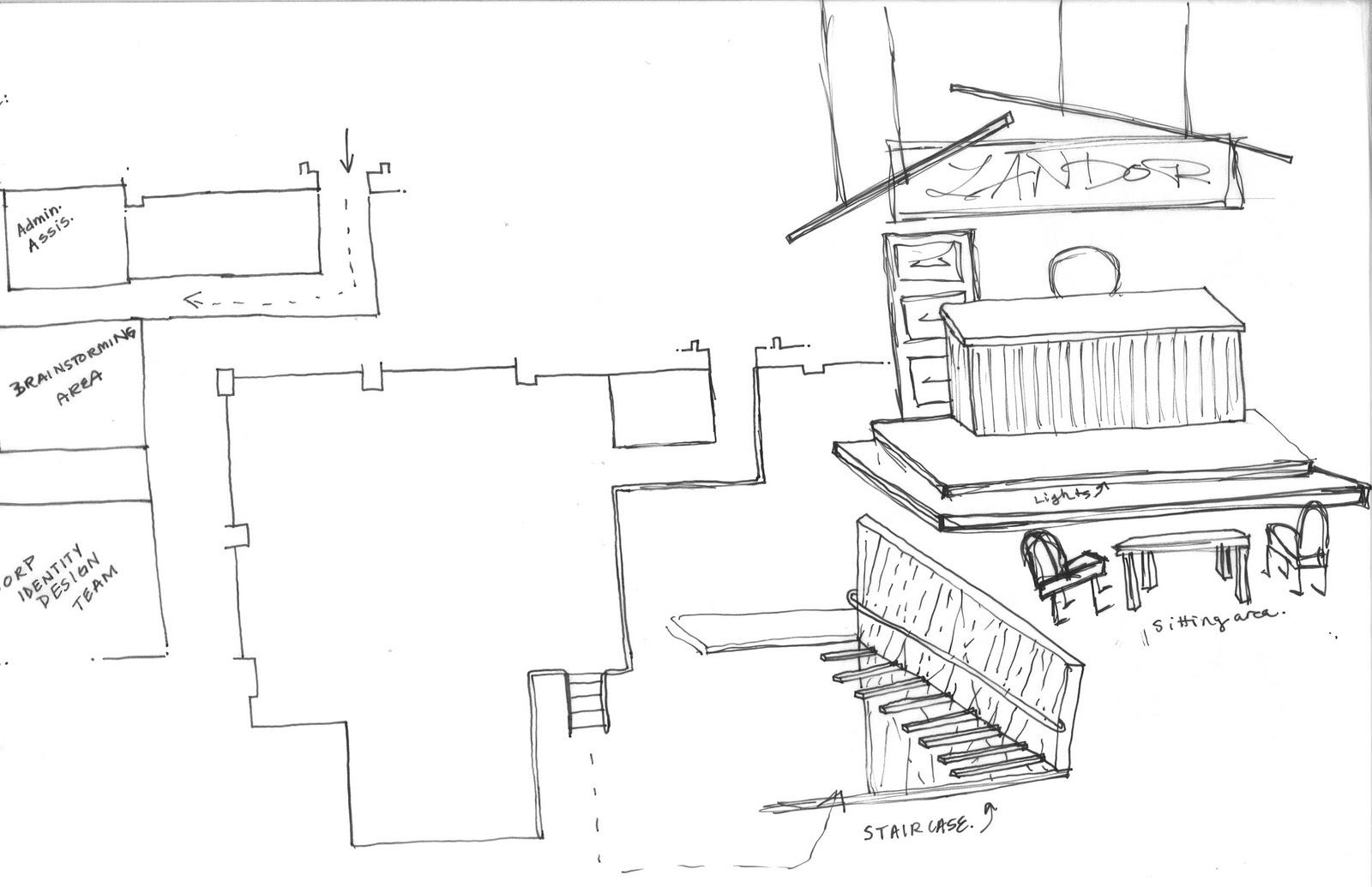 Landor Office Design Project Process Work