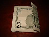 Money Origami Gift Idea