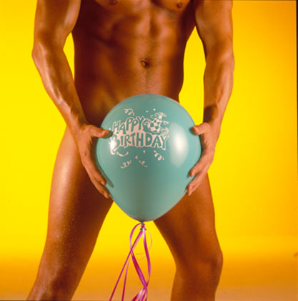 sex birthday card naked guy