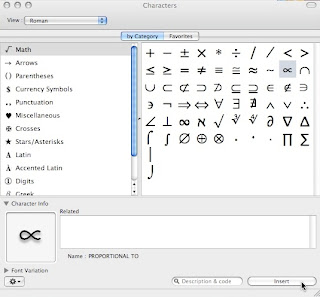 how to make the r symbol on mac