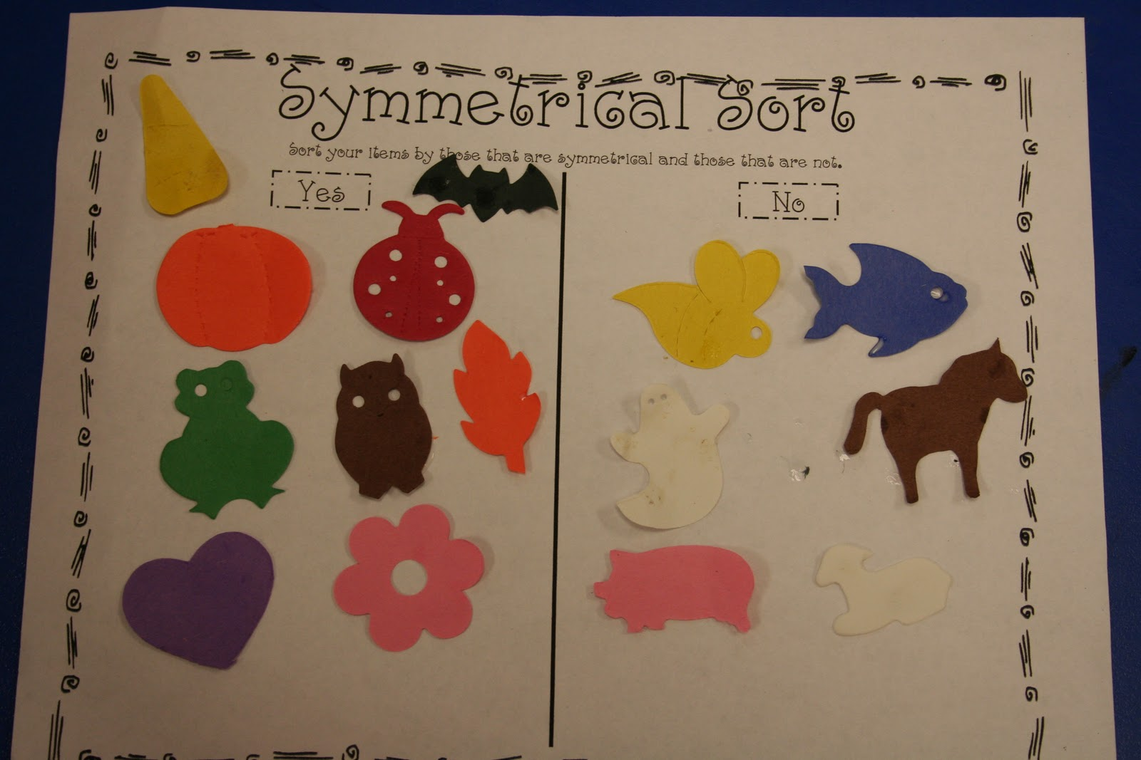 Mrs Lee S Kindergarten More Symmetry