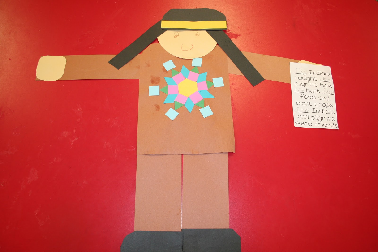 Mrs Lee S Kindergarten Symmetry Indians