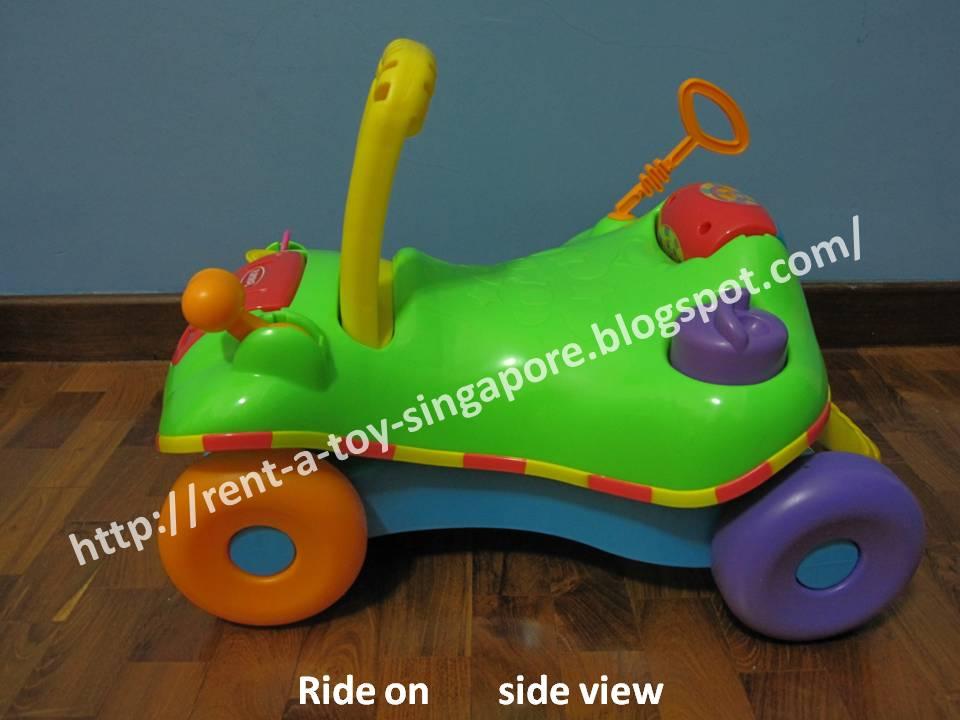 ae27defa5 Singapore Toy Rental  PLAYSKOOL EXPLORE  N GROW STEP START WALK  N RIDE