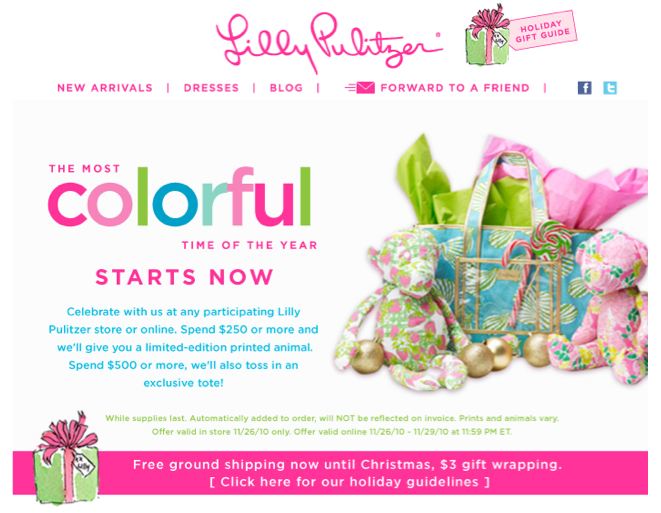 Find a December Lilly Pulitzer promotional code and other Promo Codes. with 30 Lilly Pulitzer coupon codes and discounts from RetailMeNot. Get a Free Mystery Gift with Next Purchase. Include nearby city with my comment to help other users. Post Comment. Lunch at Lilly Event! Get gifts with every Pre-Order purchase.