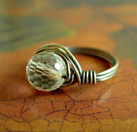sterling silver oxidized ring crystal jewelry etsy