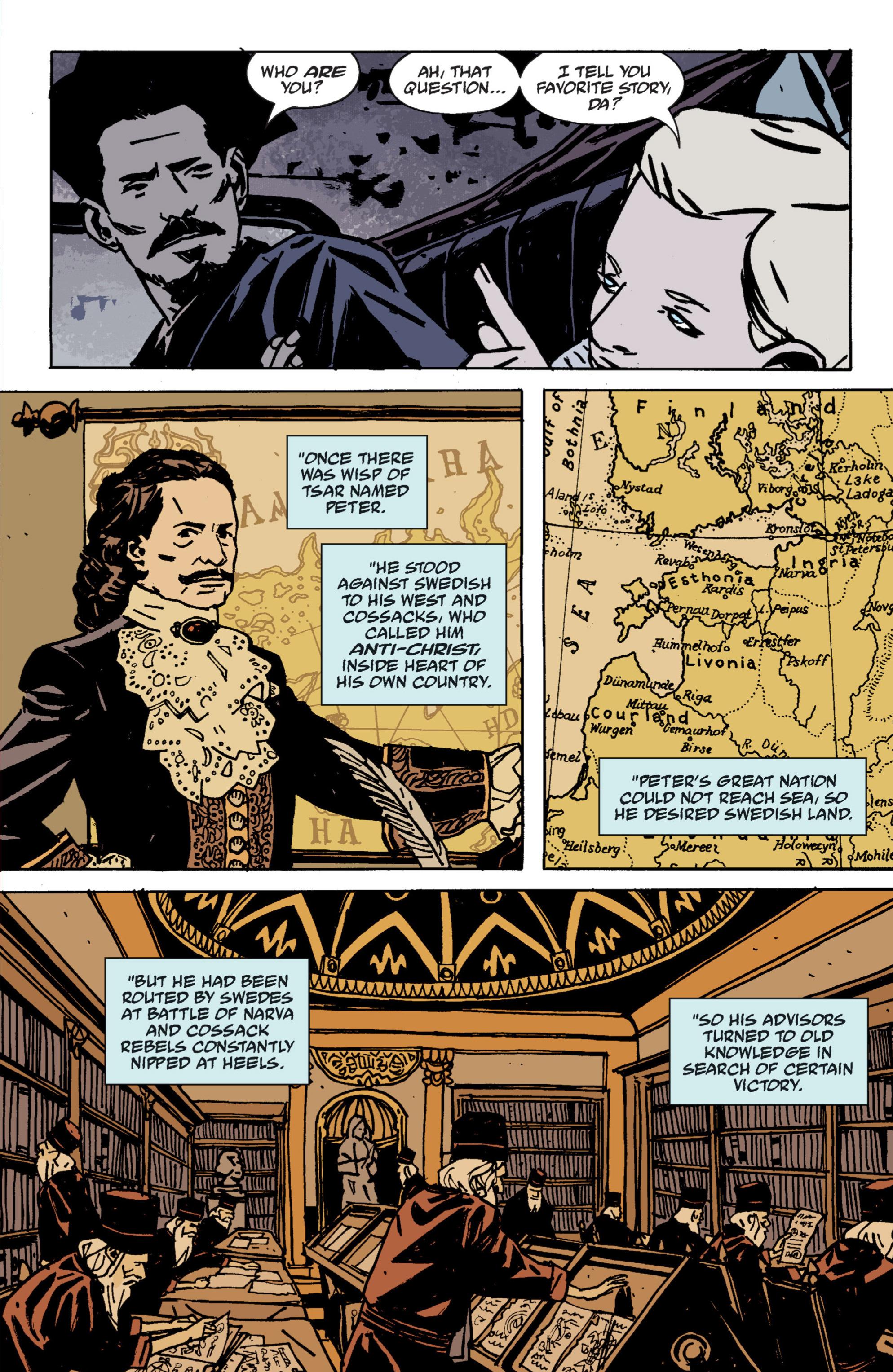 Read online B.P.R.D. (2003) comic -  Issue # TPB 9 - 54