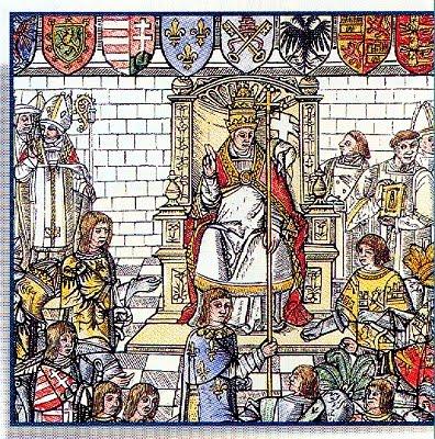 Pope Urban II orders first Crusade
