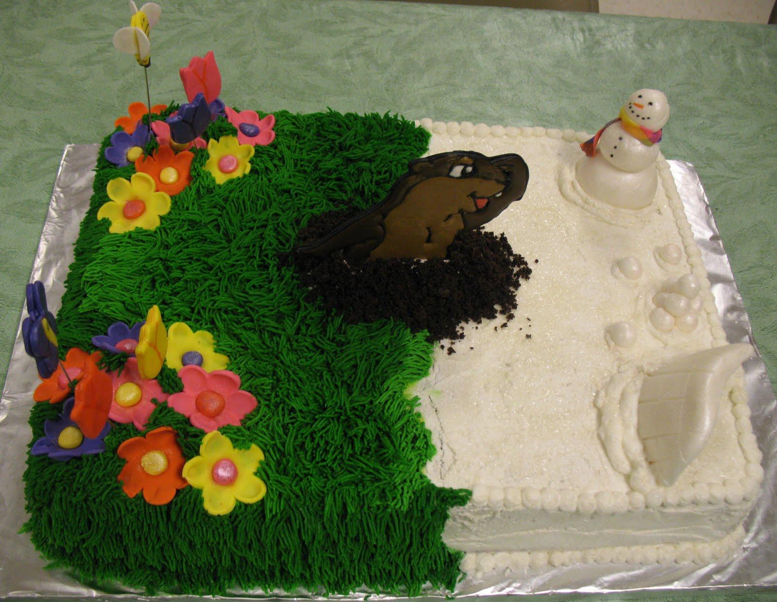 J's Cakes: Punxatawny Phil Cake