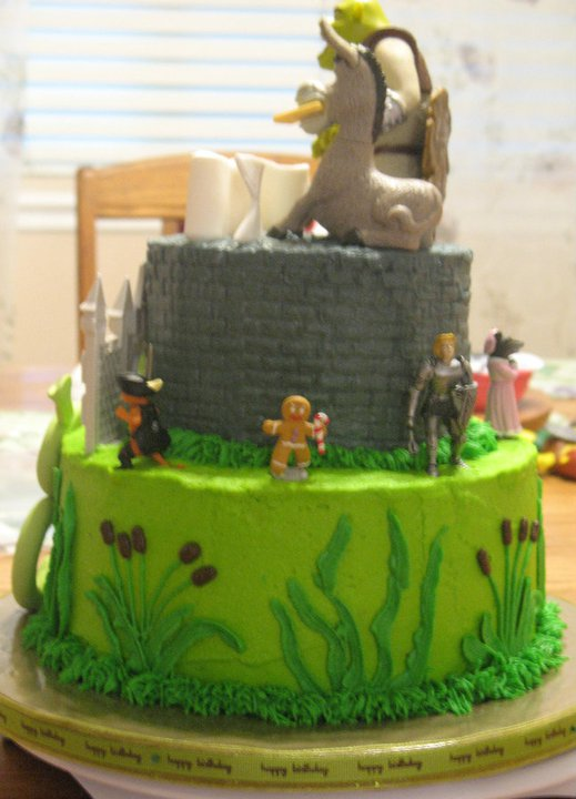 Js Cakes Shrek Cake