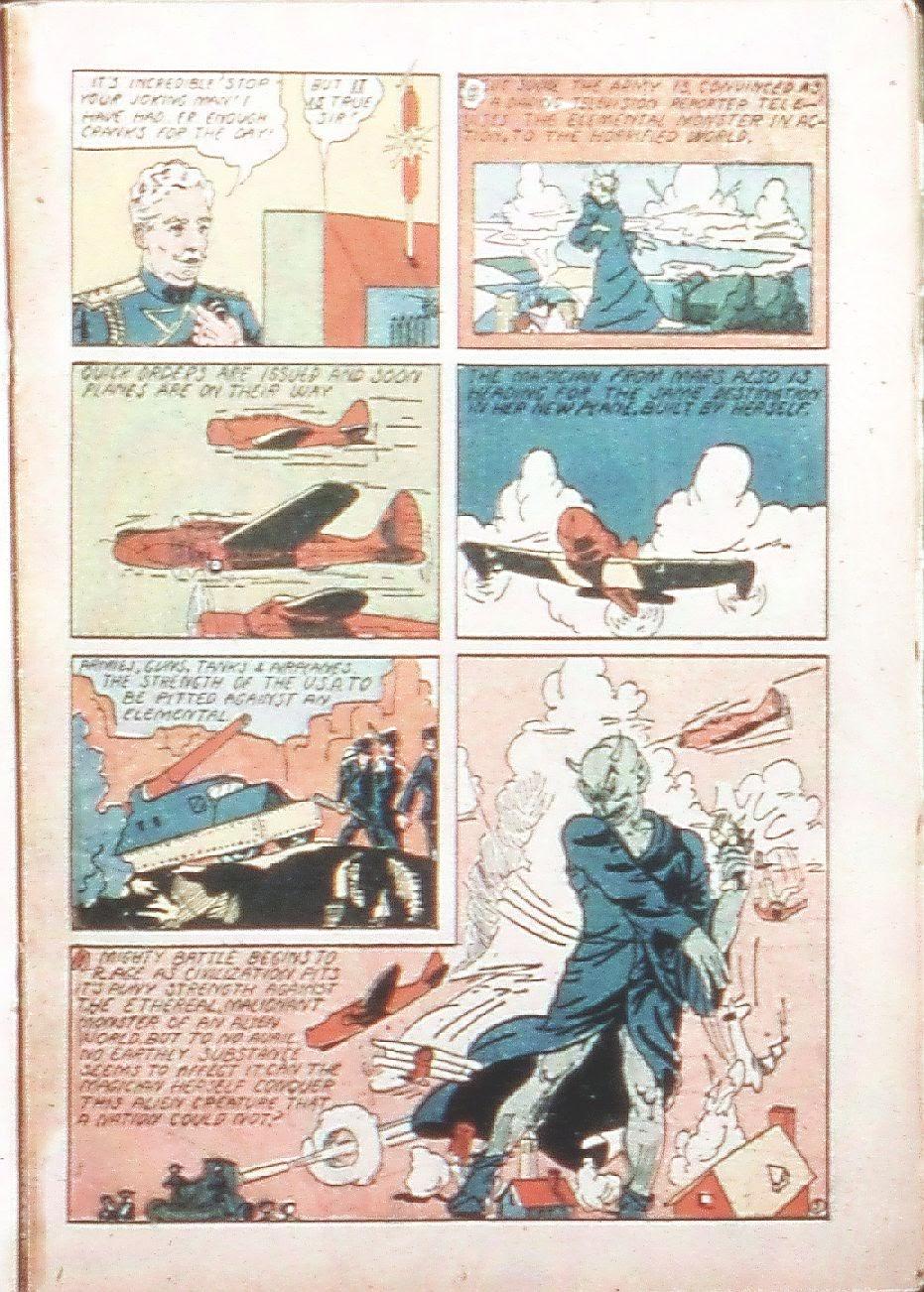 Read online Amazing Man Comics comic -  Issue #9 - 32