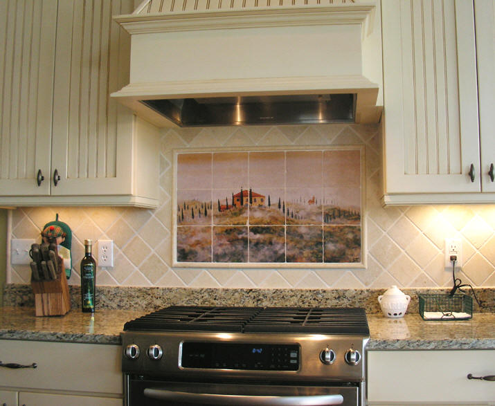 Kitchen Backsplash Is A Vertical Extension To A Kitchen Counter