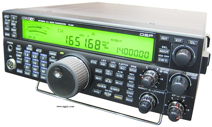RF for Amateur Hobbies: KENWOOD TS-590S, HF + 50MHz All Mode