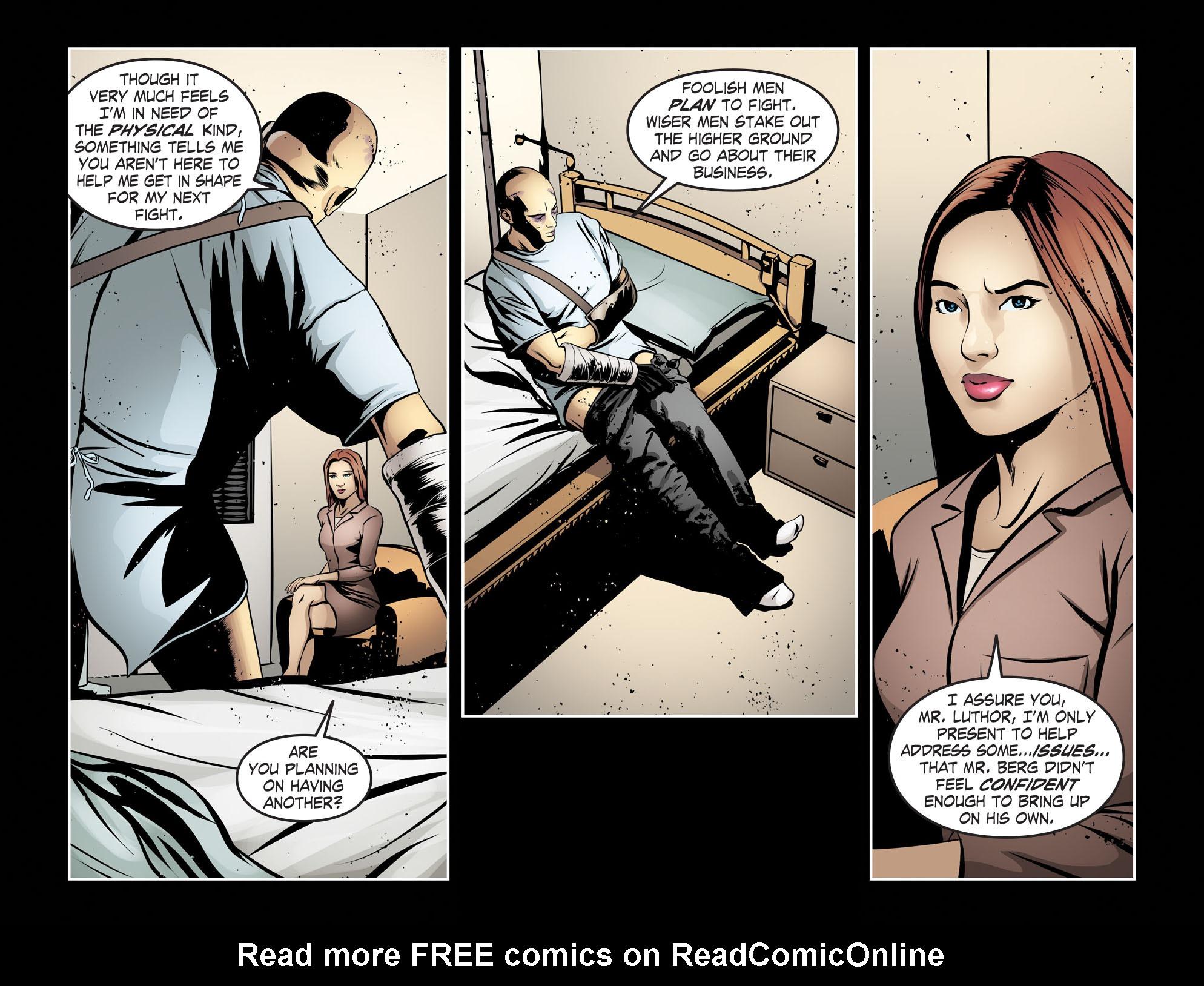 Read online Smallville: Season 11 comic -  Issue #55 - 4