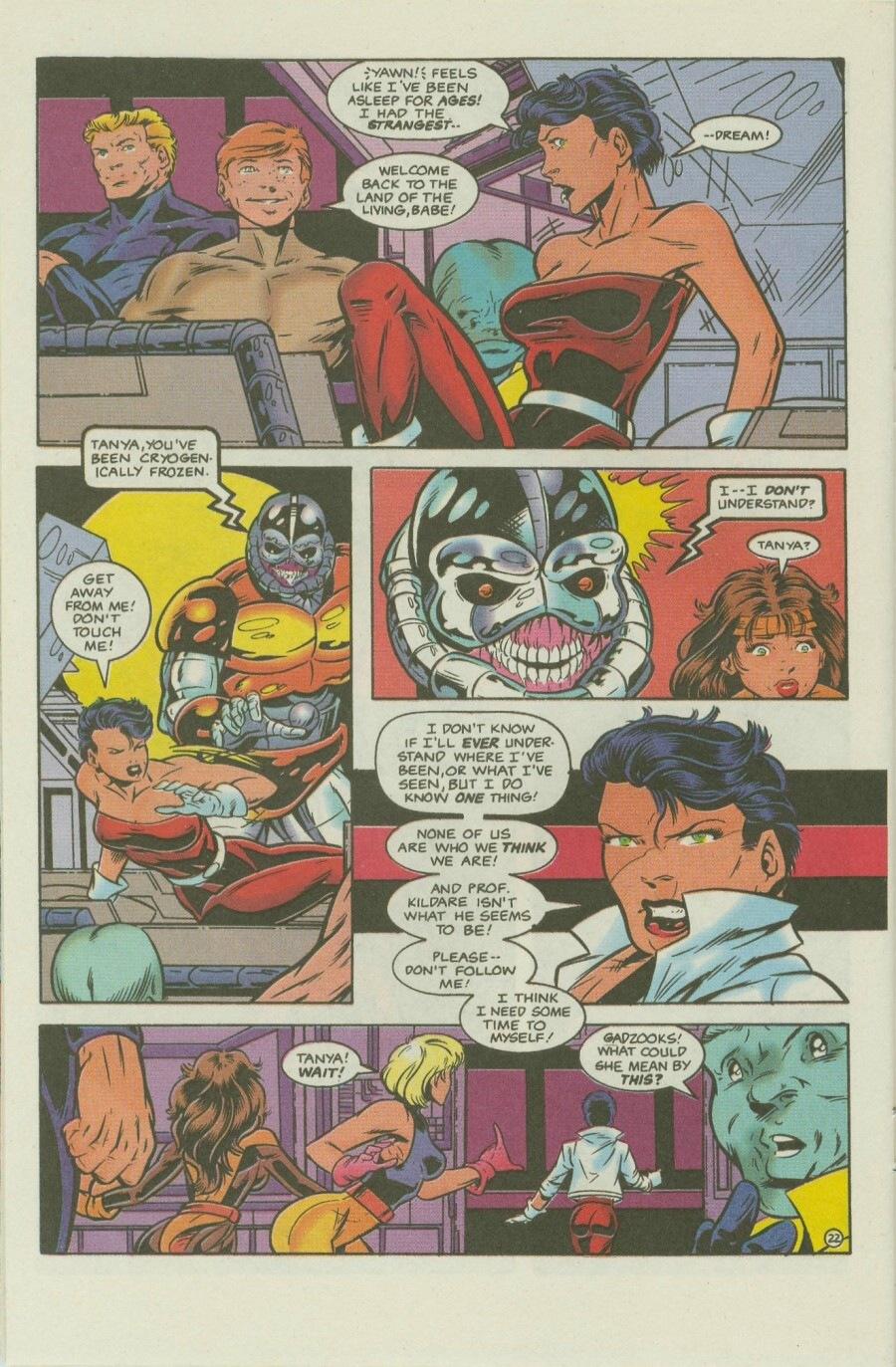 Read online Ex-Mutants comic -  Issue #8 - 27