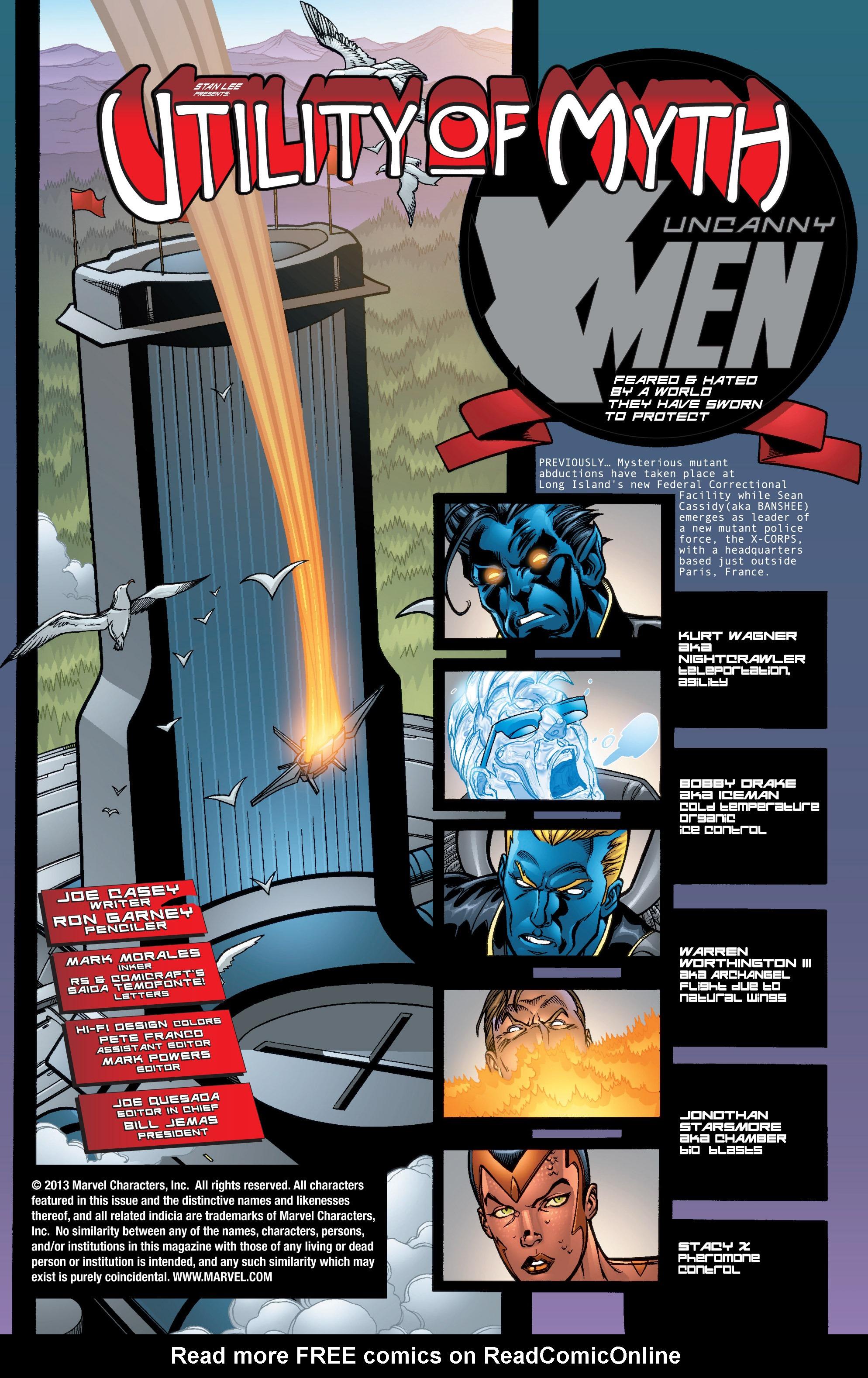 Read online Uncanny X-Men (1963) comic -  Issue #402 - 2