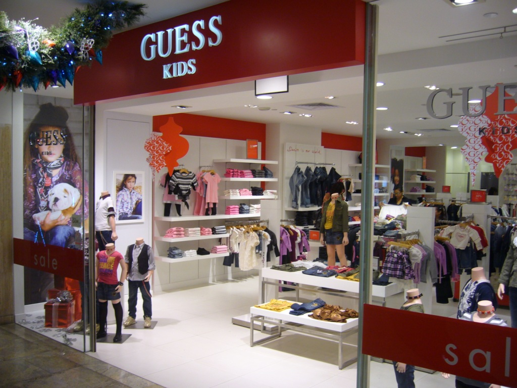 Children clothes store