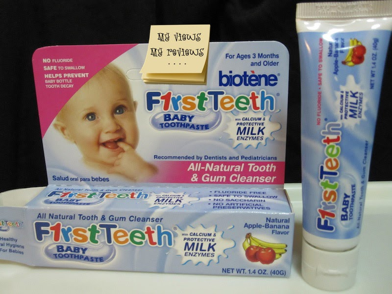 My Views And Reviews Biotene F1rst Teeth Baby Toothpaste