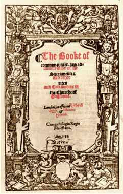 The book of common prayer 2019