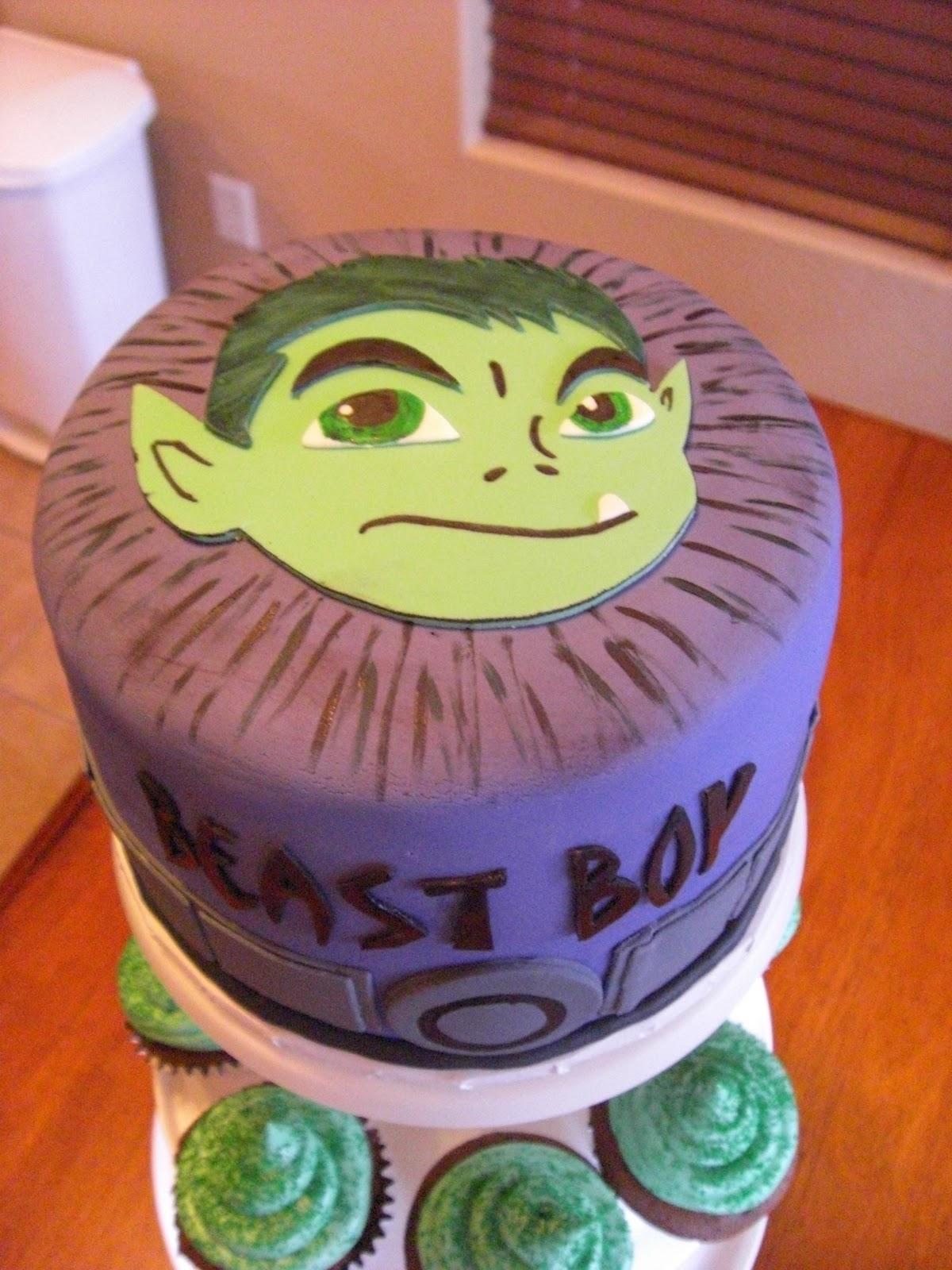 The Cake Shoppe Beast Boy