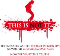 This is Not It, logo, tini, michael jackson, rouge, blanc, moonwalk,