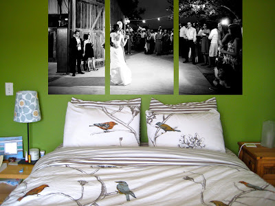 Because Of The Bedroom Photos Size Canvas Ideas Are Cut Off On Top In Real Life I Would Want Them Taller Wall Originally Got This Idea