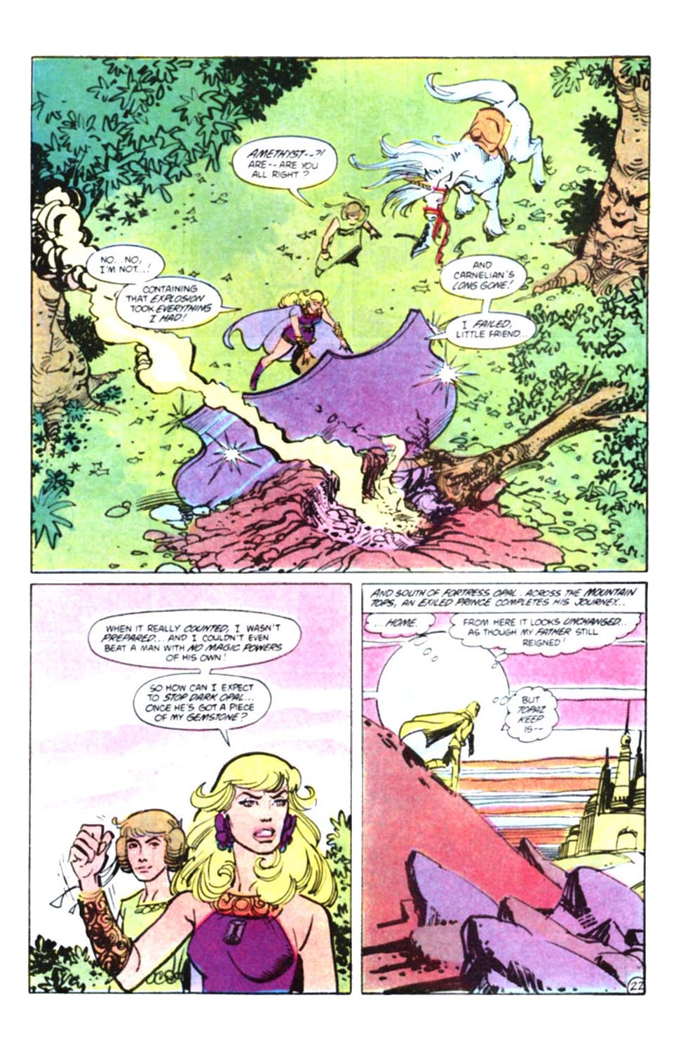 Read online Amethyst, Princess of Gemworld comic -  Issue #10 - 24