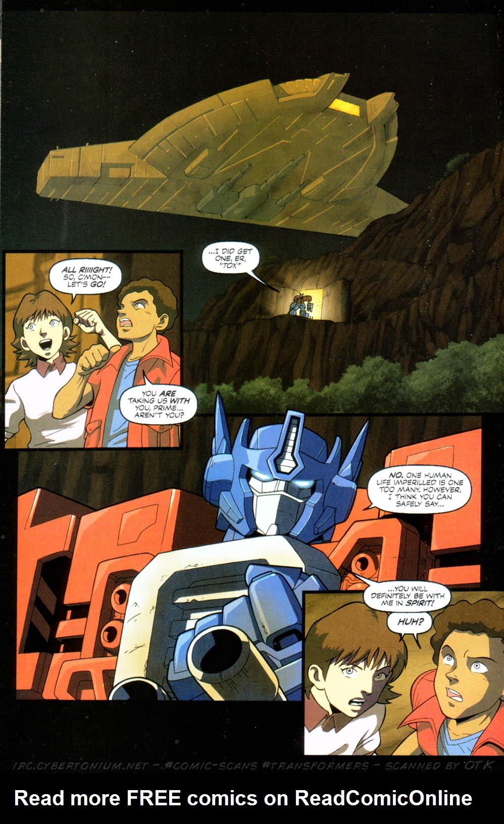 Read online Transformers Armada comic -  Issue #10 - 22