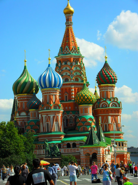Russia Famous Buildings