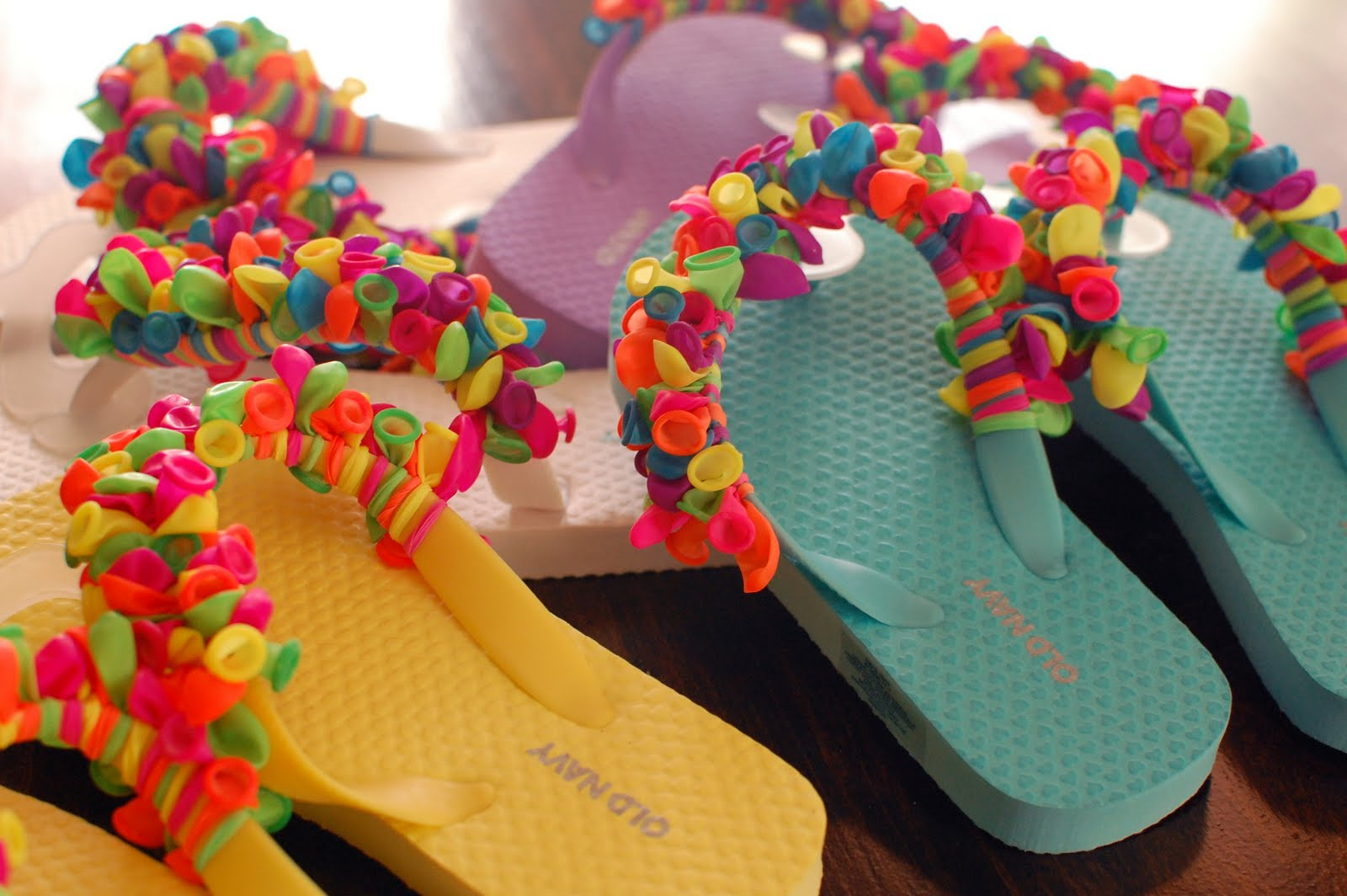 15 fun diy summer flip flops she mariah for Simple things to make and sell