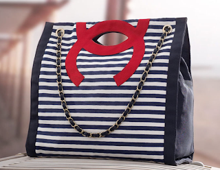 Striped Chanel Bag from Cruise 2010