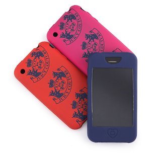 Juicy Couture Blackberry and iPhone cases