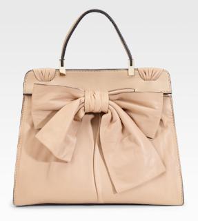 Valentino's Aphrodite Bow Top Handle Bag