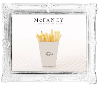 McDonalds' To Launch McFancy Designer Themed Packaging @ Fashion Week