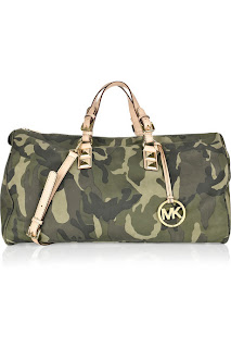 Michael Michael Kors Camouflage Leather Carryall