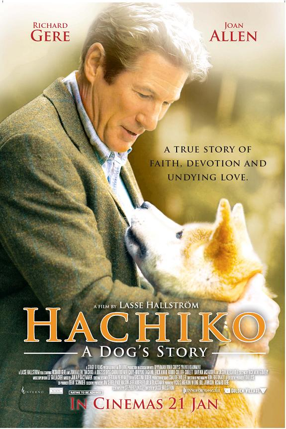 MOVIE REVIEW: HACHIKO A DOG'S TALE - GREEN TEA MOVIE!!
