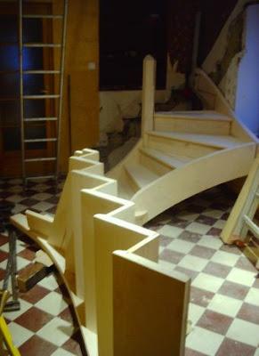 le boiseu du nivolet les escaliers. Black Bedroom Furniture Sets. Home Design Ideas