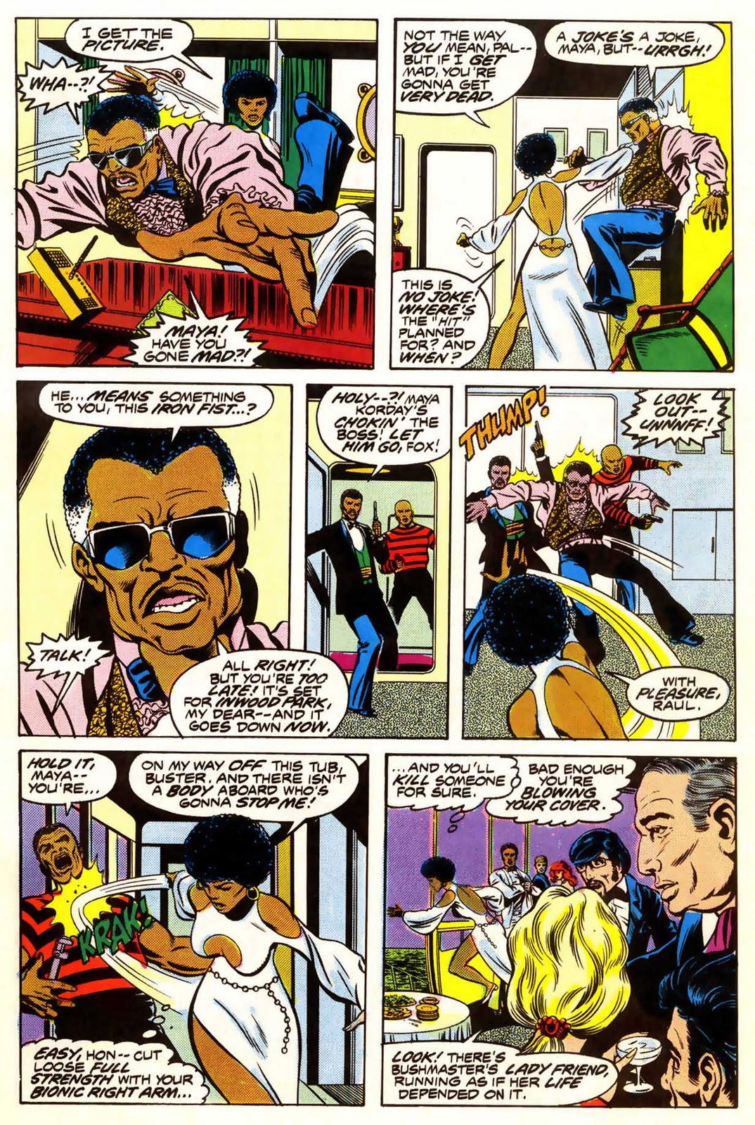 Out Of This World: Early Black Comic Book Heroes: Misty