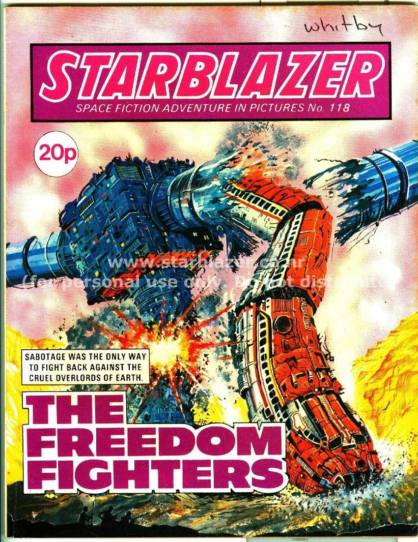 Starblazer issue 118 - Page 2