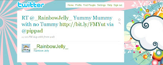 A Tweet from Rainbow Jelly