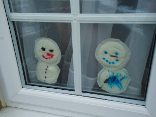 Breast Pad Snowmen