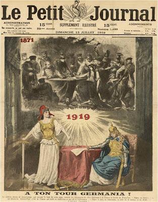 Resultado de imagen de paz de versalles revancha de francia