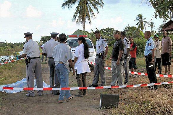 Wanica. Suriname: Lijk in verregaande staat van ontbinding gevonden