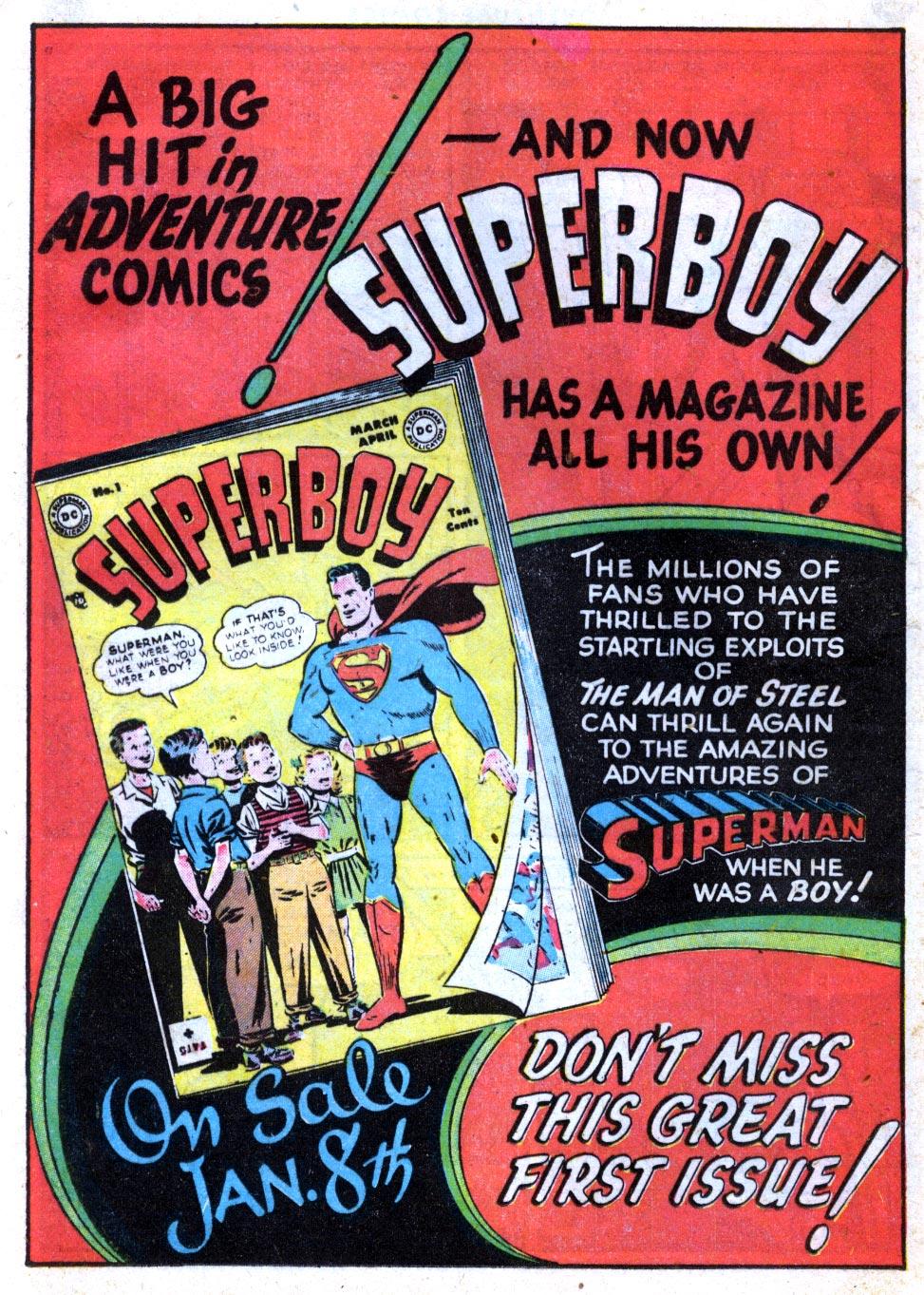 Read online Adventure Comics (1938) comic -  Issue #137 - 22