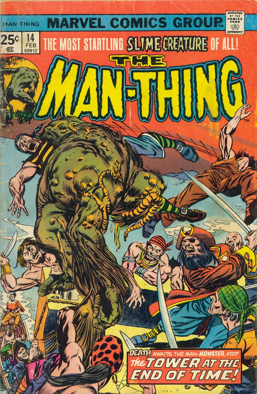 Man-Thing (1974) issue 14 - Page 1